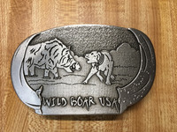 WILD BOAR USA BELT BUCKLE (imperfect)