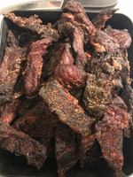 Apple Bourbon Beef Jerky