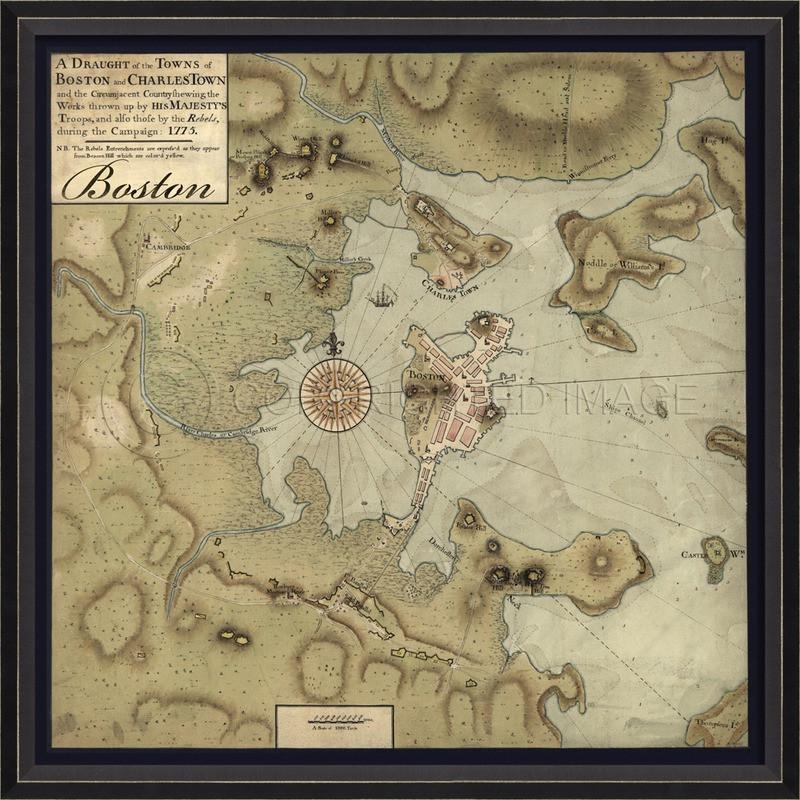 Boston 1775 (30003) | Pura Vida Home Decor on