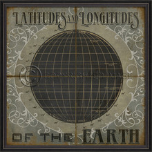 latitudes wall art