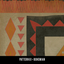 Pattern 61 swatches