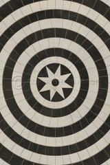 Pattern 58 Invicta vinyl floor cloth.