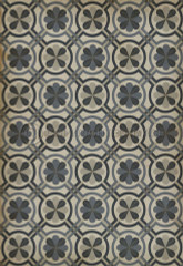 Pattern 19 Madame Curie vinyl floor cloth 30x44""