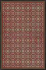 Pattern 21 The Red Queen QS 30x44