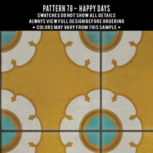 Pattern 78 swatches