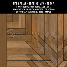 Swatches for Trollheimen vinyl cloths