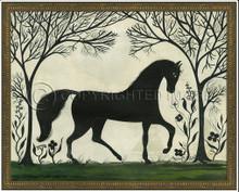 Animal Silhouette Horse