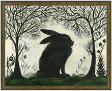 Animal Silhouette Rabbit