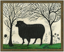 Animal Silhouette Sheep