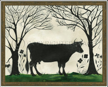 Animal Silhouette Cow