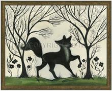 Animal Silhouette Fox