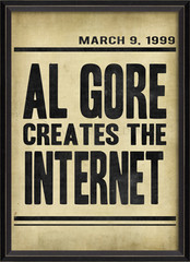 Al Gore Creates the Internet