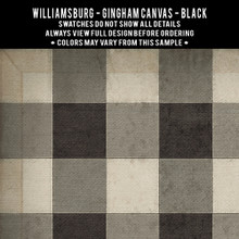 Swatches for Gingham Canvas