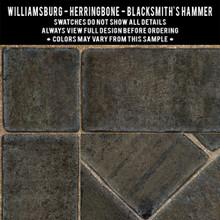 Swatches for Herringbone Brick
