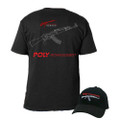 PolyTech AK47 Legend Hat & T-Shirt Swag Set