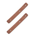Leather Sling Tabs Original Chinese PLA Unissued - PolyTech