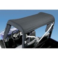 6040 - WindStopper - Solid/Rhino - Black Nylon with Clear Rear Window - Yamaha Rhino