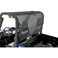 7140 - WindStopper - Solid - Black Nylon with Clear Vinyl Window - Polaris RZR Razor
