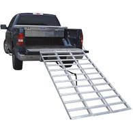 "Tri-Fold Aluminum Loading Ramp - Extended 91"""