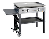 28'' Griddle Cooking Station (with Stainless Steel front plate)