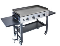 "36"" Griddle Cooking Station (with Stainless Steel front plate)"