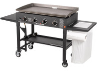 36″ Griddle Cooking Station with Accessory Side Shelf