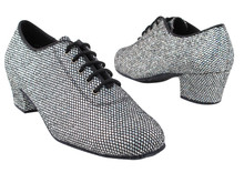 Fun Sparkle Shoe!! A little bling makes you feel great!! Add ahlf size larger than street size.