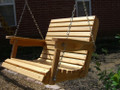 2' Cypress Porch Swing ($25 Shipping)