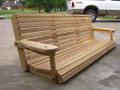 6' Cypress Porch Swing ($60 Shipping)