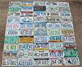 50 License Plates. One from each US State.  All in Very Good or Good Condition.