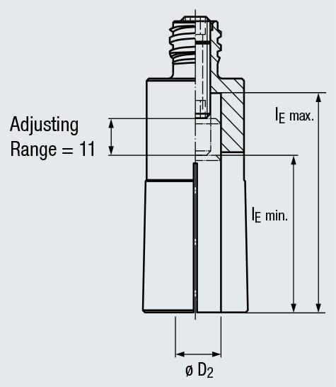 """New Emuge 6638.200625 High Precision 5//8/"""" Standard FPC Collet FPC20"""