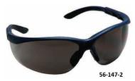 PRO-SAFE Hi-Voltage AC Safety Glasses, Clear Lens, Blue Frame - 56-146-4