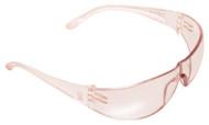 PRO-SAFE Eva Petite Women's Safety Glasses, Pink Lens, Scratch Resistant, Pink Frame - 56-156-3