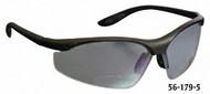PRO-SAFE Mag Reader Bifocal Safety Glasses, Gray Lens, 2 Diopter - 56-180-3
