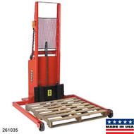Wesco Adjustable Span Straddle Powered Stacker