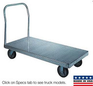 Wesco Aluminum Platform Trucks Treadplate Model