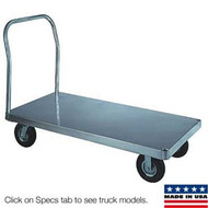 Wesco Aluminum Platform Trucks Smooth Deck