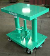 Lexco Foot Operated Hydraulic Lift Tables