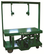 "Lexco DH Series Hydraulic Die Handler DH-3339-22, 2000 lbs. Capacity, 30"" x 30"" Table - 499243"