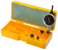 "Peacock Dial Test Indicator, Horizontal, 0 - 0.030"" Range, Black Dial Face - 11-873-7"