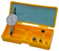 "Peacock Dial Test Indicator, Horizontal, 0 - 0.030"" Range, White Dial Face - 11-874-5"