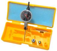 "Peacock Dial Test Indicator, Horizontal, 0 - 0.040"" Range, Black Dial Face - 11-875-2"
