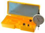 "Peacock Dial Test Indicator, Horizontal, 0 - 0.030"" Range, White Dial Face - 11-879-4"