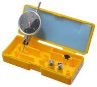 "Peacock Dial Test Indicator, Horizontal, 0 - 0.030"" Range, Black Dial Face - 11-881-0"