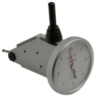 "Peacock Dial Test Indicator, Vertical, 0 - 0.008"" Range, White Dial Face - 11-887-7"