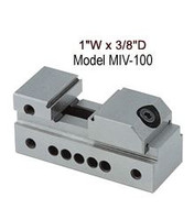 """Precise 1"""" Toolmakers Insert Vise with 13/16"""" Jaw Opening - MIV-100"""