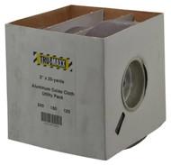 "Tru-Maxx Shop Rolls, Assortment Pack, 2"" Width, 120/180/240 Grit - 64-171-2"