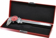 "SPI Dial Caliper, 0-6"" with Red Dial Face - 15-394-0"