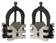 """SPI Matched V-Blocks Length: 2-3/8"""", Width: 2-3/4"""", Height: 2"""" - 91-298-0"""