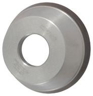 "Norton Diamond Cup Wheel, Type 11V9, 3-3/4"" Diameter, 1-1/4"" Hole Size, 1-1/2"" Thickness, 120 Grit, Fine Grade, 1/16"" Superabrasive Depth - 36046100"
